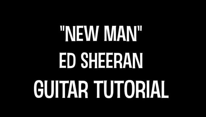 """New Man"" EdSheeran"