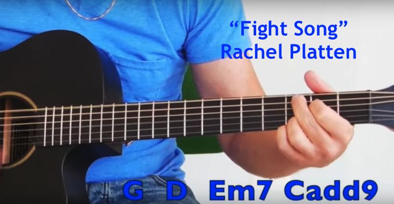 """Fight Song"" Chorus GuitarRhythm"